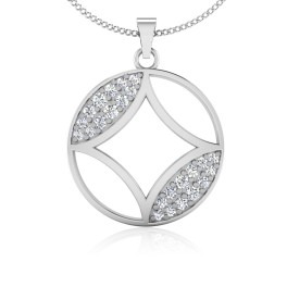 The Kosmos Silver Pendant