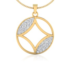 The Kosmos Diamond Pendant