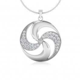 The Disiby Silver Pendant