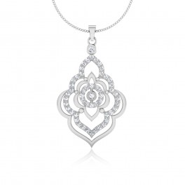 The Eclairs Silver Pendant