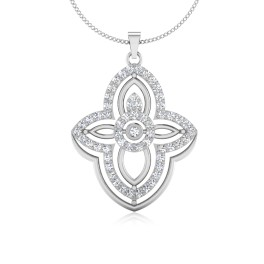 The Engagement Silver Pendant