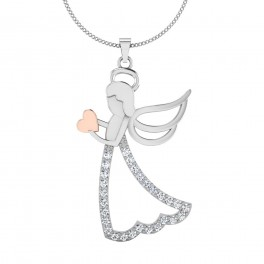 The Betrothed Diamond Pendant