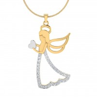The Betrothed Silver Pendant