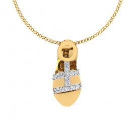 The Sandal Diamond Pendant