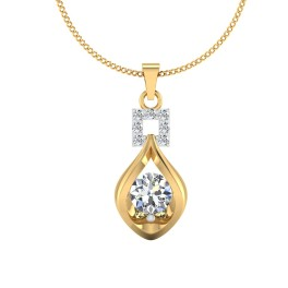 The Azalea Solitaire Pendant