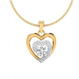 The Star Sunshine Solitaire Pendant