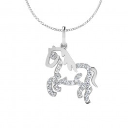 The House Silver Pendant