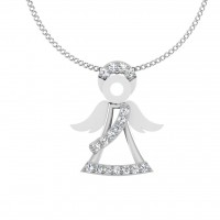 The Doll Silver Pendant