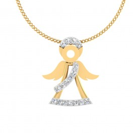 The Doll Diamond Pendant