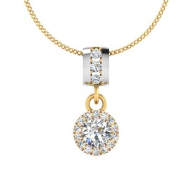 The Clover Solitaire Pendant