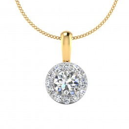 The Elated Solitaire Pendant