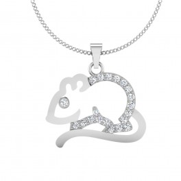 The Rabbit Silver Pendant