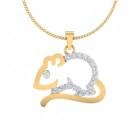 The Rabbit Diamond Pendant
