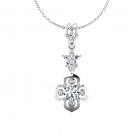 The Shimmer Solitaire Pendant