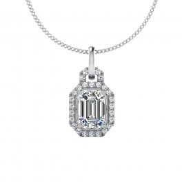 The Promise Emerald Solitaire Pendant