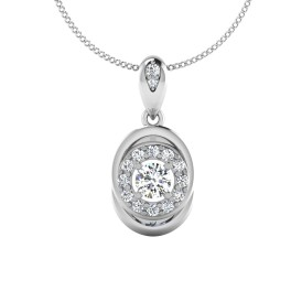 The Elegance Solitaire Pendant