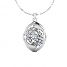 The Lacey Solitaire Pendant