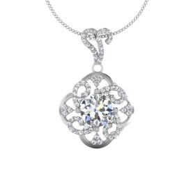 The Taj Solitaire Pendant