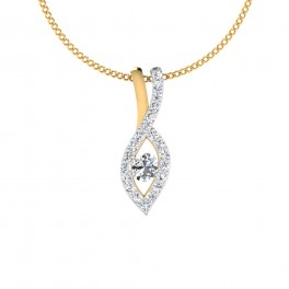 The Captivating Gold Pendant