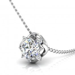 The Leos Solitaire Pendant