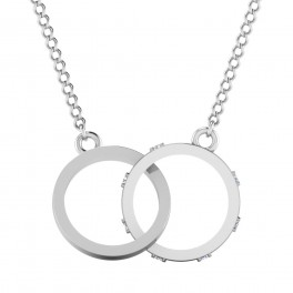The Infinity Silver Pendant