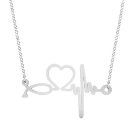 The Life Line Silver Pendant