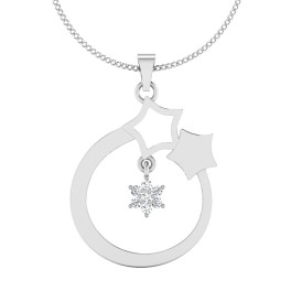 The Star Bell Silver Pendant