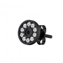 The Reha Diamond Mens Stud