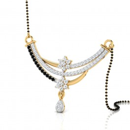 The Arcilla Diamond Mangalsutra