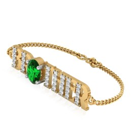 The Astra Brother Emerald Bracelet