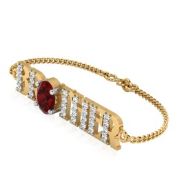 The Blossom Brother Ruby Bracelet