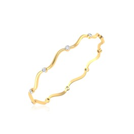 The Rediha Diamond Bangle