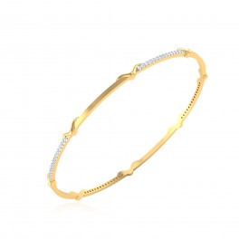 The Divita Diamond Bangle