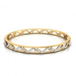 The Angel Diamond Bangle