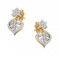 The Vokante Diamond Stud Earrings