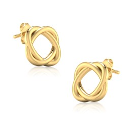 The Head Gold Stud Earrings