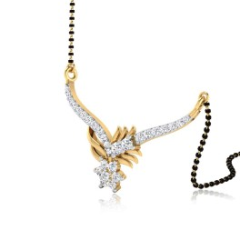The Impeccable Diamond Mangalsutra