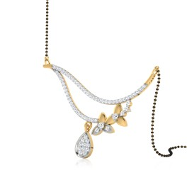 The Charming Diamond Mangalsutra