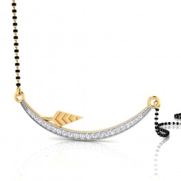 The Sara Diamond Mangalsutra