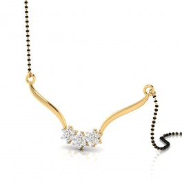 The Royal Diamond Mangalsutra