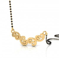 The Harley Gold Mangalsutra