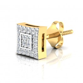 The Funky Diamond Mens Stud