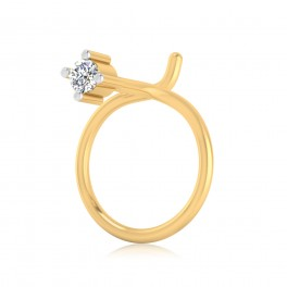 The Elvira Solitaire Diamond Nose Pin