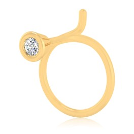 The Allan Solitaire Diamond Nose Pin
