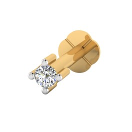 The Fervor Diamond Solitaire Nose Screw