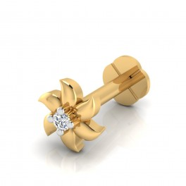 The Yamini Diamond Solitaire Nose Screw