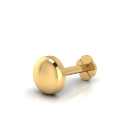 The Bhudevi Gold Nose Screw