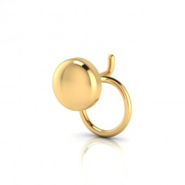 The Andal Gold Nose Pin