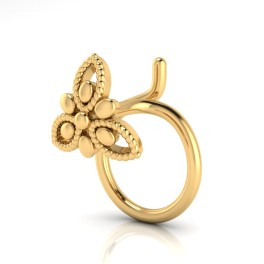 The DreamGirl Gold Nose Pin