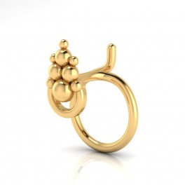 The FoxyLady Gold Nose Pin